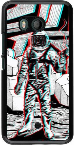 Coque HTC U11 - Anaglyph Astronaut