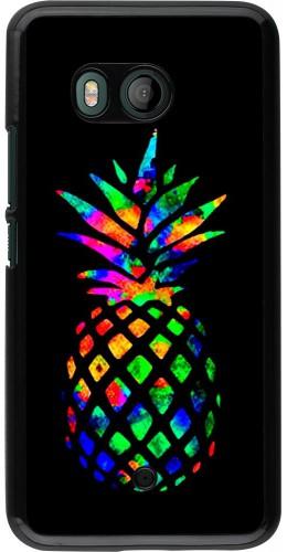 Coque HTC U11 - Ananas Multi-colors