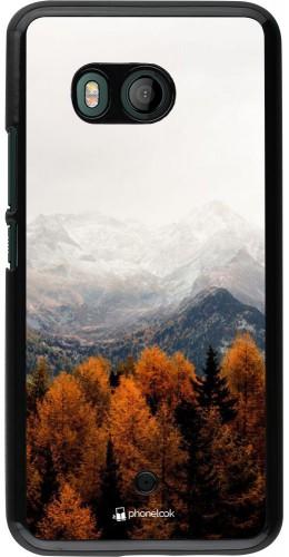 Coque HTC U11 - Autumn 21 Forest Mountain