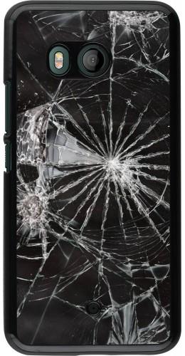 Coque HTC U11 - Broken Screen