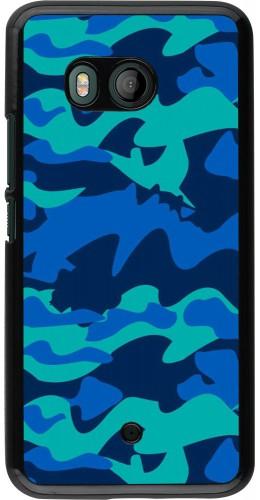 Coque HTC U11 - Camo Blue