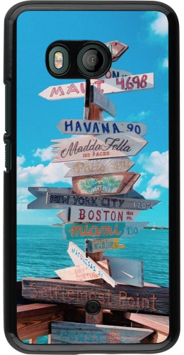 Coque HTC U11 - Cool Cities Directions