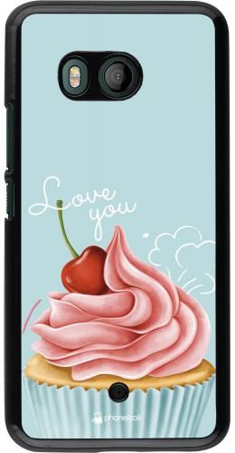 Coque HTC U11 - Cupcake Love You