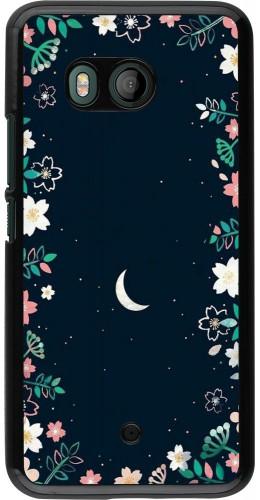 Coque HTC U11 - Flowers space
