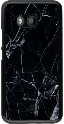 Coque HTC U11 - Marble Black 01
