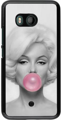 Coque HTC U11 - Marilyn Bubble