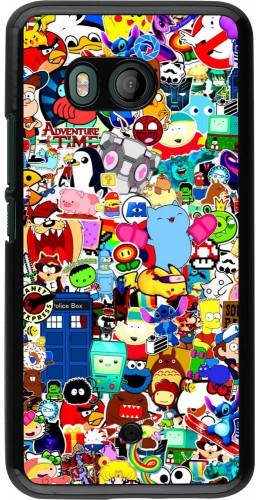 Coque HTC U11 - Mixed cartoons