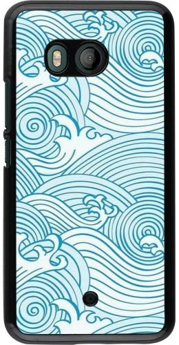 Coque HTC U11 - Ocean Waves