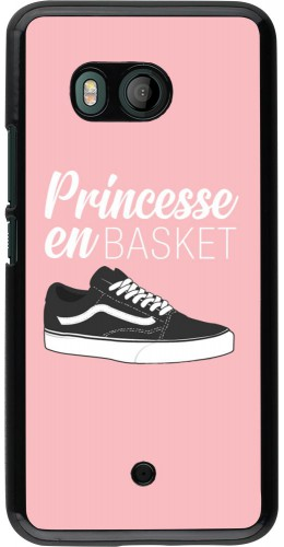 Coque HTC U11 - princesse en basket