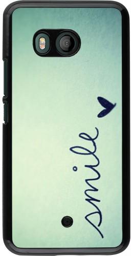 Coque HTC U11 - Smile