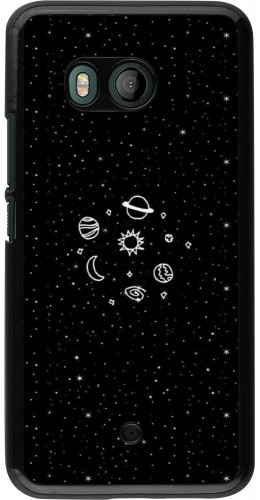 Coque HTC U11 - Space Doodle