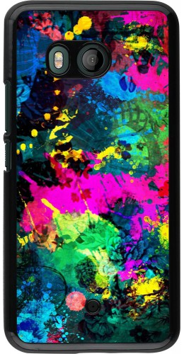 Coque HTC U11 - splash paint