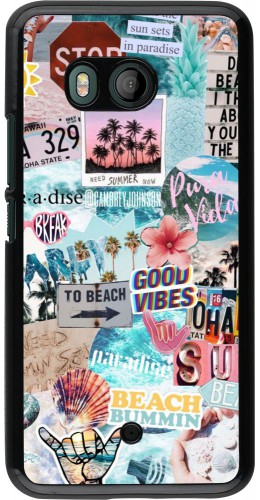 Coque HTC U11 - Summer 20 collage