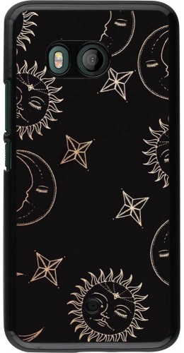 Coque HTC U11 - Suns and Moons