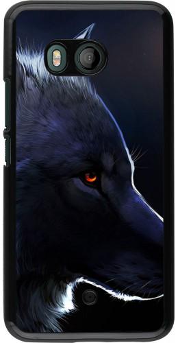 Coque HTC U11 - Wolf Shape