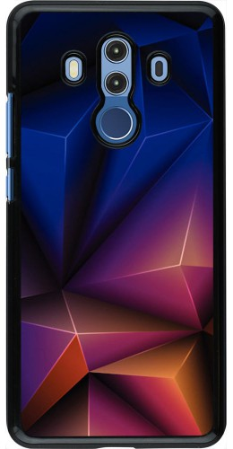 Coque Huawei Mate 10 Pro - Abstract triangles