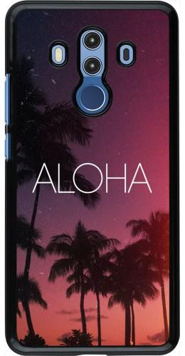 Coque Huawei Mate 10 Pro - Aloha Sunset Palms