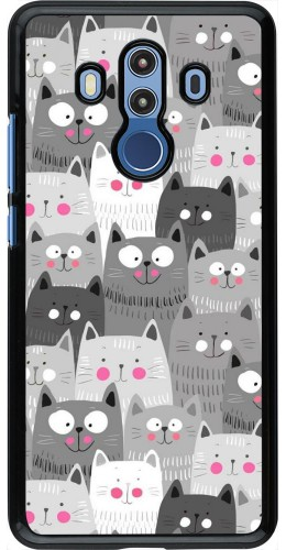 Coque Huawei Mate 10 Pro - Chats gris troupeau