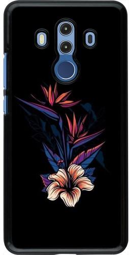 Coque Huawei Mate 10 Pro - Dark Flowers