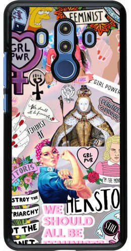 Coque Huawei Mate 10 Pro - Girl Power Collage
