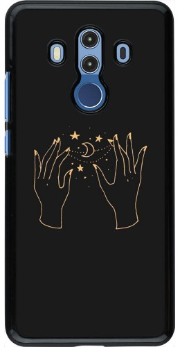 Coque Huawei Mate 10 Pro - Grey magic hands