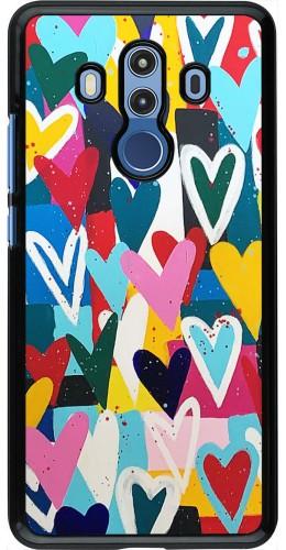 Coque Huawei Mate 10 Pro - Joyful Hearts