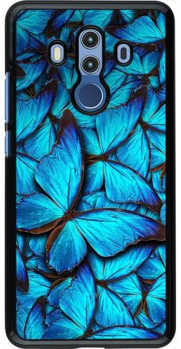 Coque Huawei Mate 10 Pro - Papillon bleu