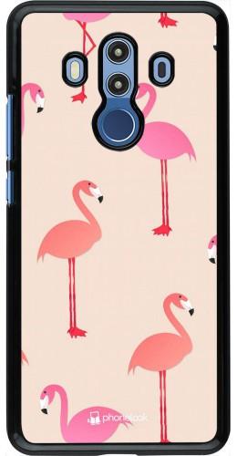 Coque Huawei Mate 10 Pro - Pink Flamingos Pattern