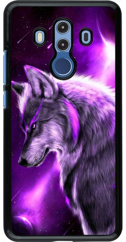 Coque Huawei Mate 10 Pro - Purple Sky Wolf