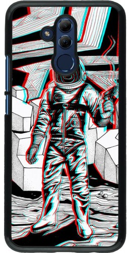 Coque Huawei Mate 20 Lite - Anaglyph Astronaut