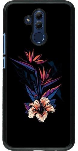 Coque Huawei Mate 20 Lite - Dark Flowers