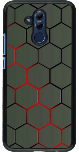 Coque Huawei Mate 20 Lite - Geometric Line red