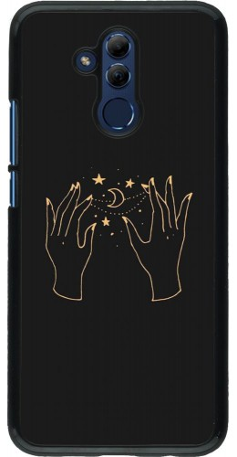 Coque Huawei Mate 20 Lite - Grey magic hands
