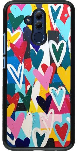 Coque Huawei Mate 20 Lite - Joyful Hearts