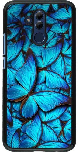 Coque Huawei Mate 20 Lite - Papillon bleu