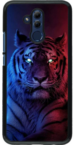 Coque Huawei Mate 20 Lite - Tiger Blue Red