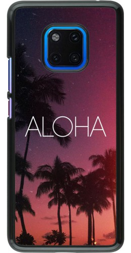 Coque Huawei Mate 20 Pro - Aloha Sunset Palms