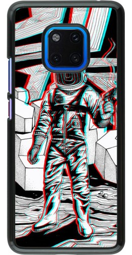 Coque Huawei Mate 20 Pro - Anaglyph Astronaut