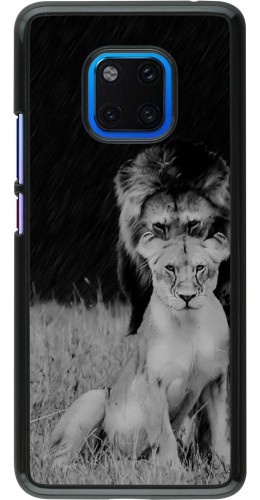 Coque Huawei Mate 20 Pro - Angry lions