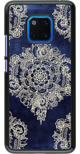 Coque Huawei Mate 20 Pro - Cream Flower Moroccan