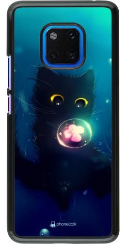 Coque Huawei Mate 20 Pro - Cute Cat Bubble