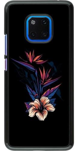 Coque Huawei Mate 20 Pro - Dark Flowers