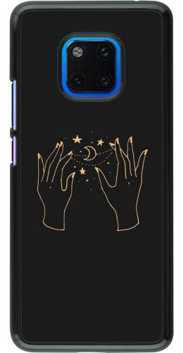 Coque Huawei Mate 20 Pro - Grey magic hands