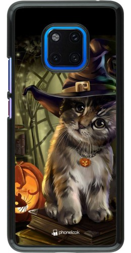 Coque Huawei Mate 20 Pro - Halloween 21 Witch cat
