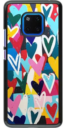 Coque Huawei Mate 20 Pro - Joyful Hearts