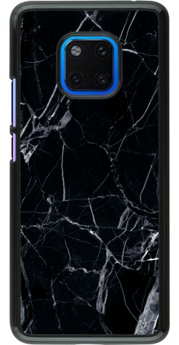 Coque Huawei Mate 20 Pro - Marble Black 01