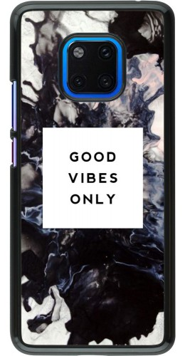 Coque Huawei Mate 20 Pro - Marble Good Vibes Only