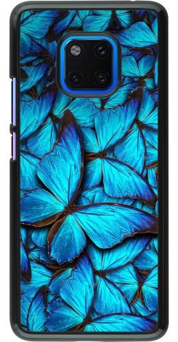 Coque Huawei Mate 20 Pro - Papillon bleu