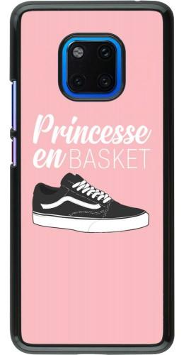 Coque Huawei Mate 20 Pro - princesse en basket