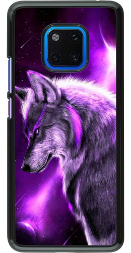 Coque Huawei Mate 20 Pro - Purple Sky Wolf